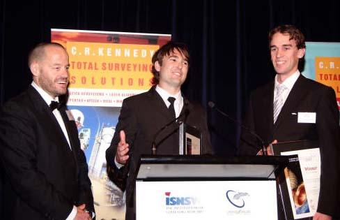 John Wilson and Alex Widgery with AdamSpencer