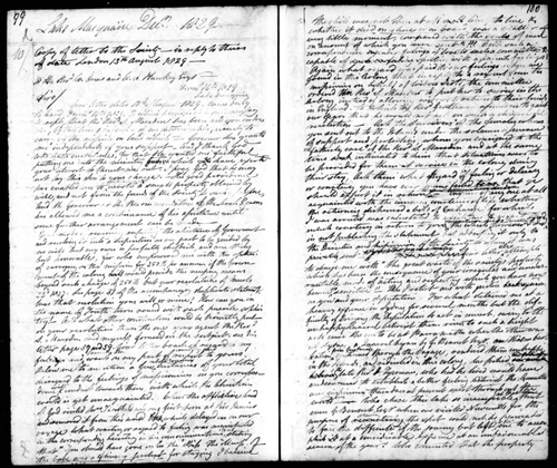 Sample page from Reverend Lancelot Edward Threlkeld's Journal, December 1828 - 1846. entitled A Journal Kept By Lancelot Edward Threlkeld.
