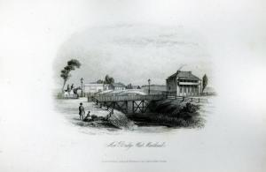 New Bridge, West Maitland, 1853