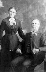 Captain John Dalton with wife Eliza