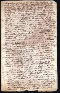 Hunter Valley manuscript leaf