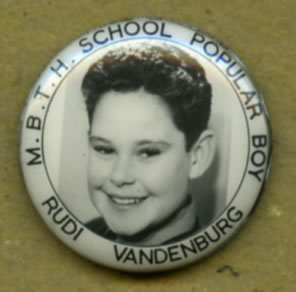 M.B.T.H. School Popular Boy Rudi Vandenburg