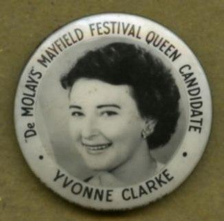 De Molays' Mayfield Festival Queen Candidate Yvonne Clarke