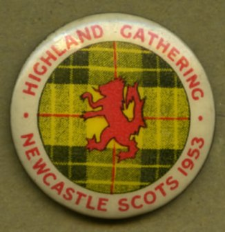 Highland Gathering Newcastle Scots 1953