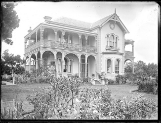 John Scholey's house, Mayfield, NSW, 7 November 1900