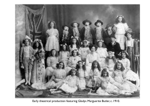 Early Theatrical Production featuring Gladys Marguerite Butler, c.1910