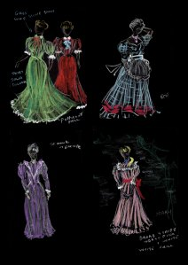 Costume Designs for Reedy River