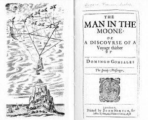 Title Page of Godwin's 'The Man in the Moon' (1638)