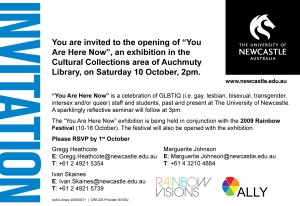 YOU ARE HERE NOW Flyer (Reverse)