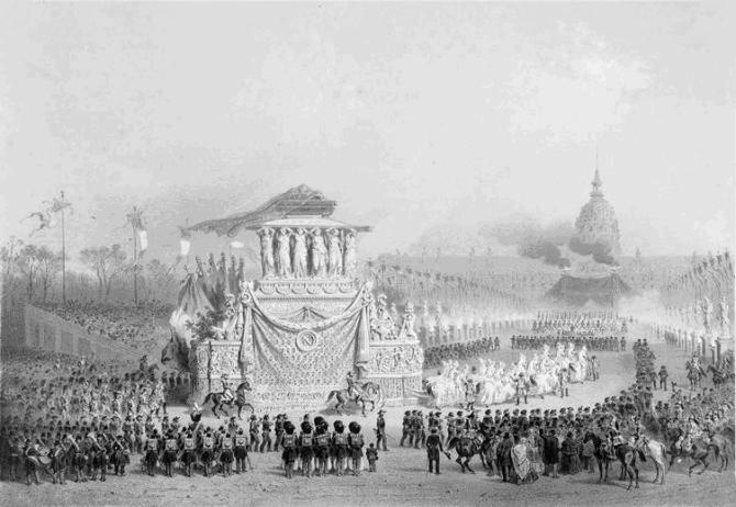Napoleon's funeral
