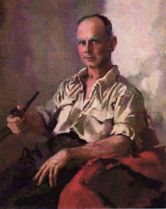 Self portrait by Harry Pugmire