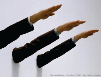 Marizio Cattelan, Ave Maria, 2007, Tate Modern London