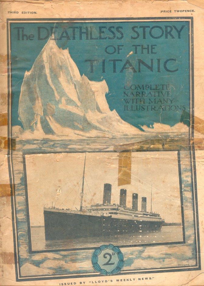 "The Deadless Story of the ""Titanic"" Cover 1912"