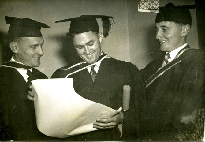 James Carr, Ernest Walpole and James Mackie