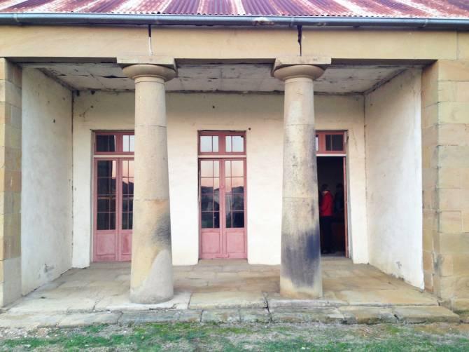 Dalwood's doric columns