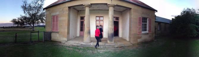 Entrance to Dalwood House