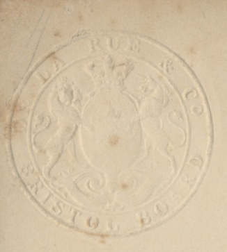 Stamp located on bottom right hand side of Morpeth Plan.