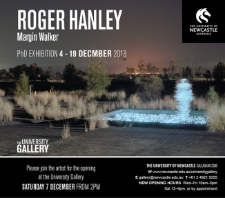 Margin Walker: an exhibition by Roger Hanley