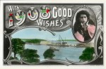 Minnie Tittell Brune (actress, 1875–1974) With 1908 Good Wishes