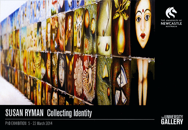 Collecting identity: PhD exhibition by Susan Ryman