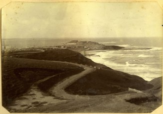 The Horse-Shoe, (now King Edward Park) circa 1880s. (Photograph by George Freeman)