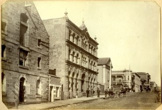 Bolton Street Newcastle, circa 1880s (Photograph by George Freeman)