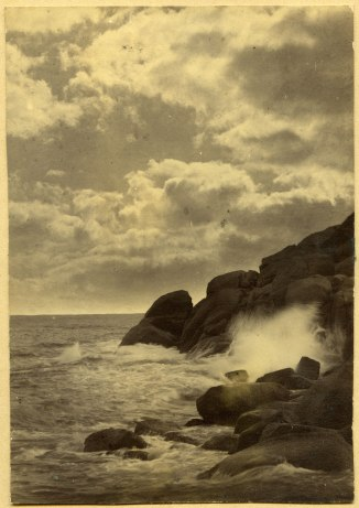 Closeup of Newcastle coastline (Photograph by George Freeman)