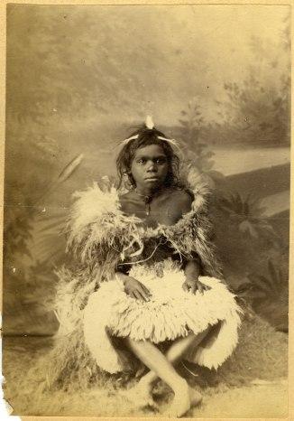 Unidentified Aboriginal Child (Photograph by George Freeman)