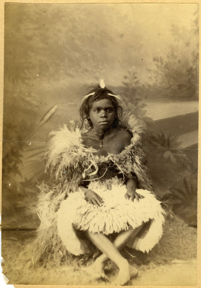 Unidentified Aboriginal Child (Photograph by George Freeman)