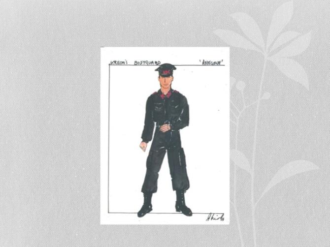 PPT 8 Bodyguard costume
