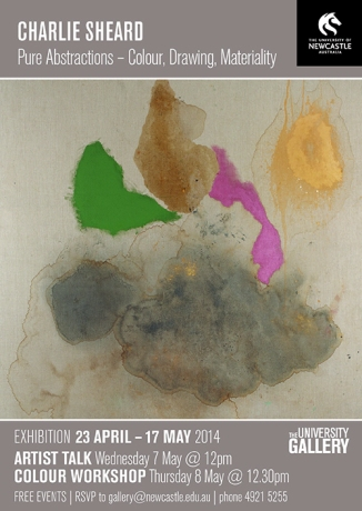 Charlie Sheard, Pure abstractions: colour - drawing - materiality