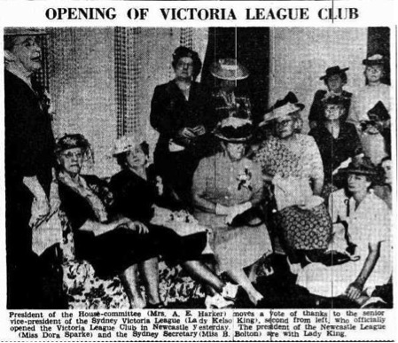 Opening of Victoria League Club