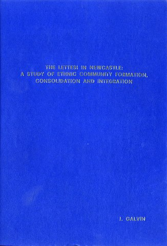 The Lettesi in Newcastle (Front Cover)