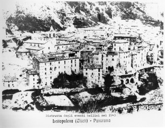 The Village of Lettopalena pre - 1943