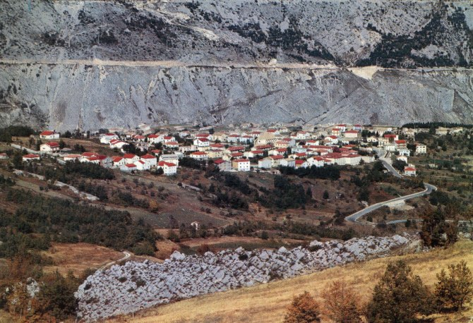 The New Village in 1977