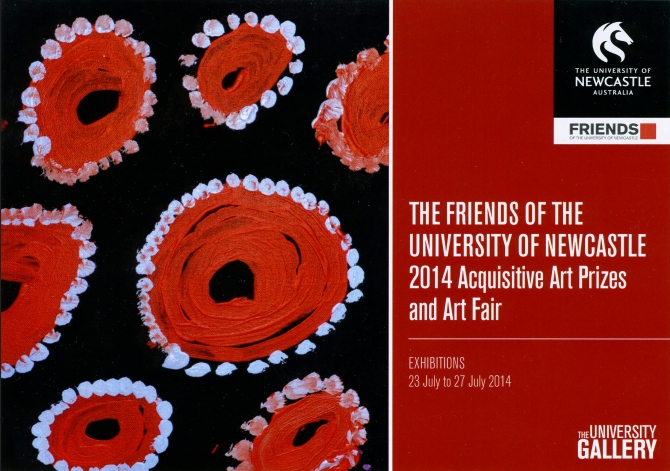 The Friends of UoN 2014 Acquisitive Art Prizes and Art Fair