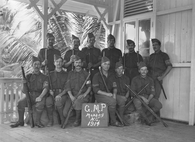 New Guinea - GMP Madang NG 1914