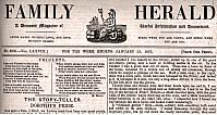Family Herald Mast Head