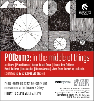 PODzome: in the middle of things
