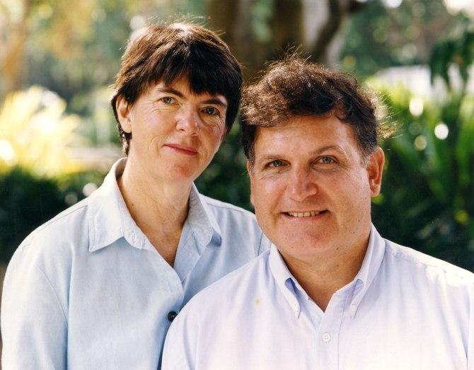 Wendy and Greg Heys circa 1997 (Photo: Courtesy of Wendy Heys)