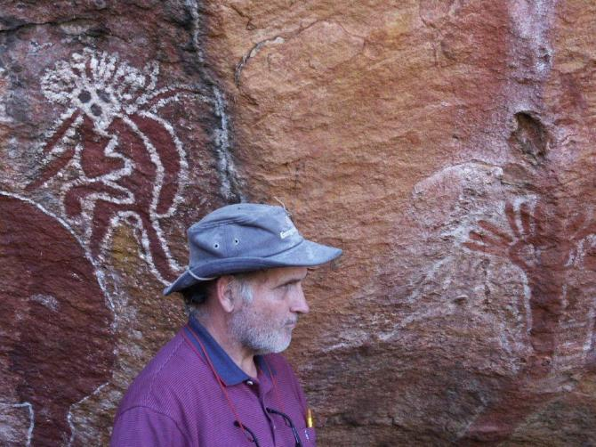 Greg Heys in the Kimberley 2003 (Photo courtesy of Wendy Heys)