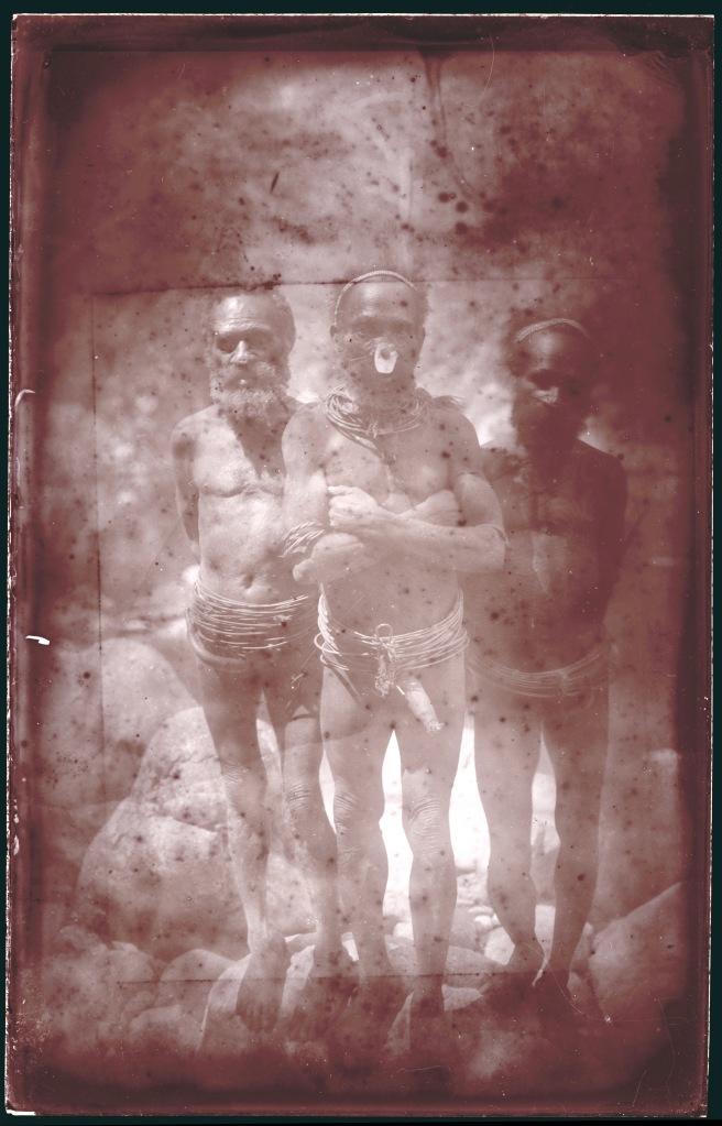 New Guinea Tribesmen circa 1914 - 1915