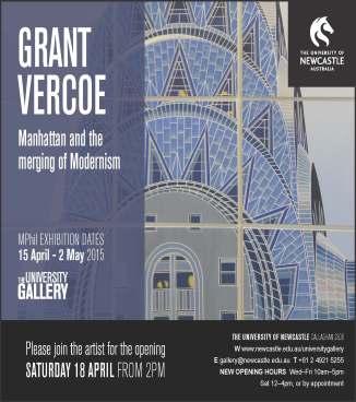 Grant Vercoe Exhibition