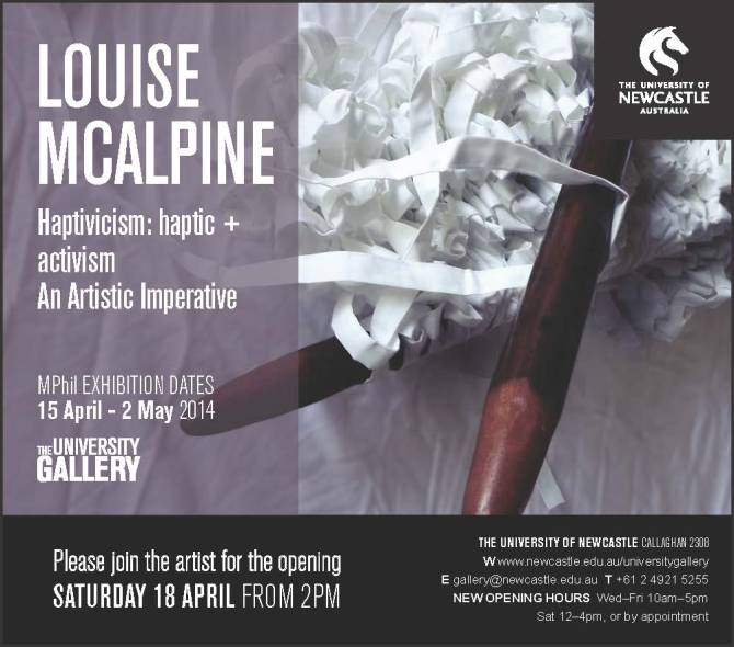Louise McAlpine exhibition