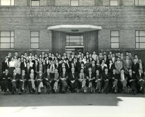 staff teachers college 1957