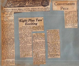 """1962 - Reviews - """"Eight Plus Two"""" (Courtesy of Robert Eather)"""