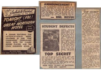 "1963 - Reviews - ""Top Secret"" (Courtesy of Robert Eather)"