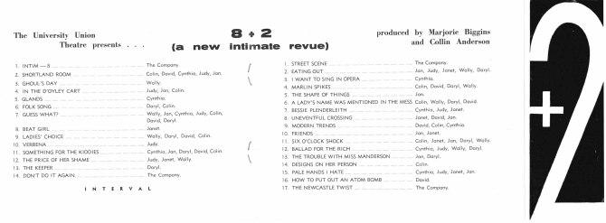 8+2 Revue Programme