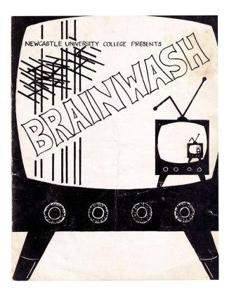 Brainwash Newcastle University College Revue Programme