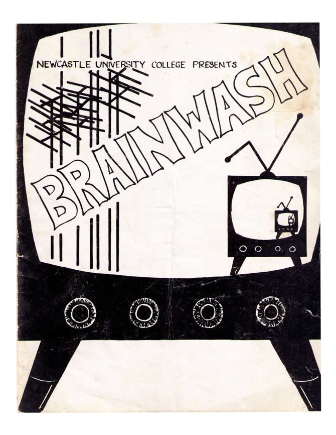 Brainwash Newcastle University College Revue Programme